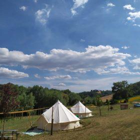 Camping Suasa Bell tent