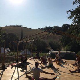 Agriturismo met kampeerplekken en yoga