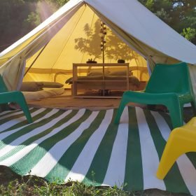 Agriturismo Camping Suasa bell tent