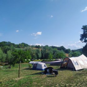 Agriturismo met kampeerplekken