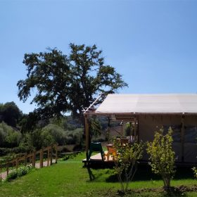 Safaritent op Agriturismo Camping Suasa