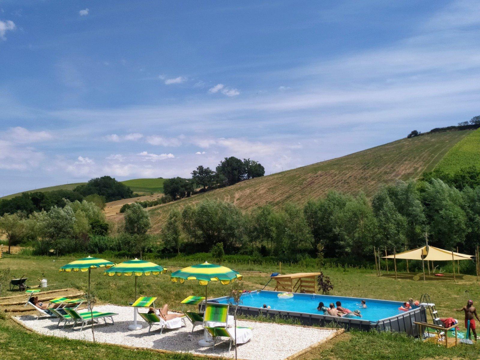 Suasa zwembad en terras