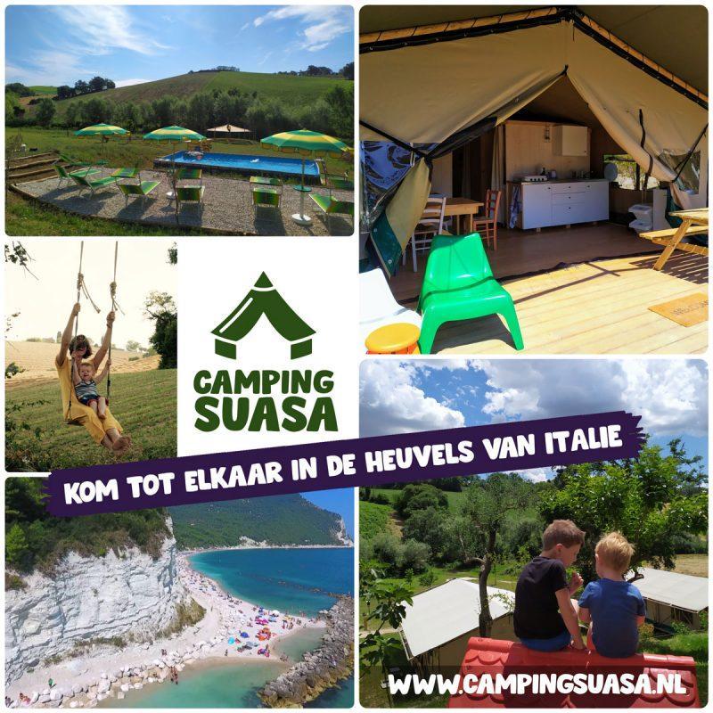Kom tot rust op Camping Suasa