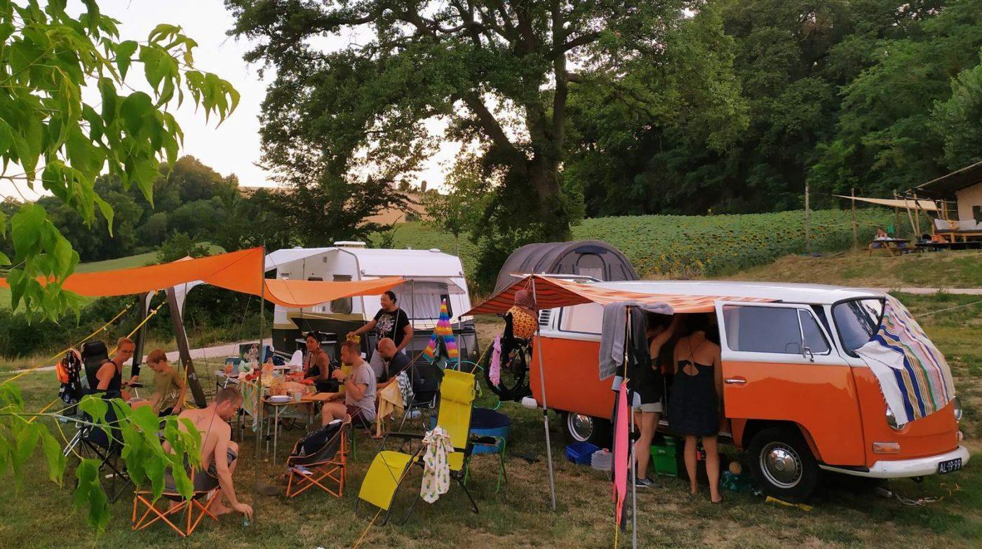 Thuis op camping suasa
